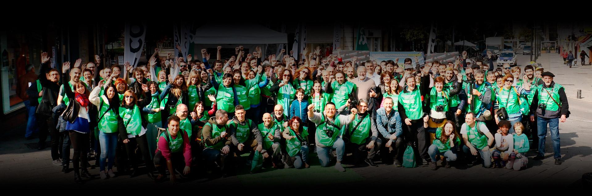 Fotros jornada Maratón Fotográfico Vitoria-Gasteiz Solidario 2018